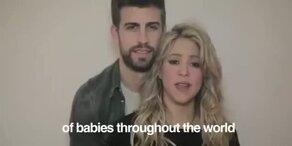 Shakira: Baby Shower zugunsten UNICEF