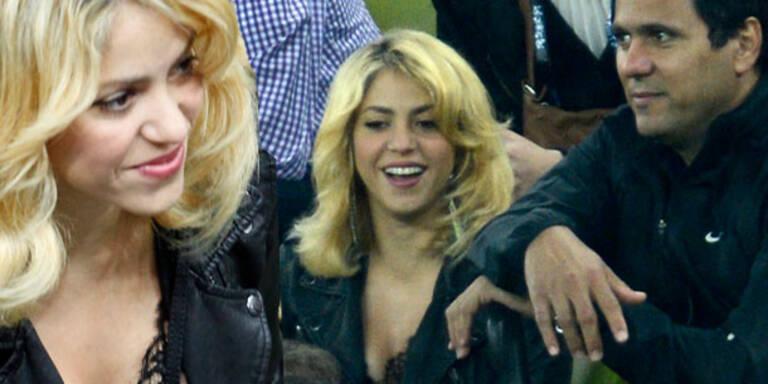 Shakira: So feuerte sie ihren Piqué an