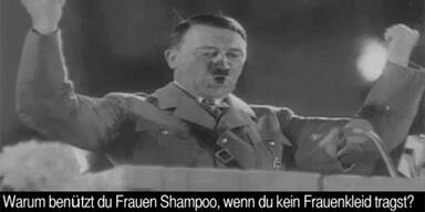 Skandal um Werbe-Spot mit Hitler