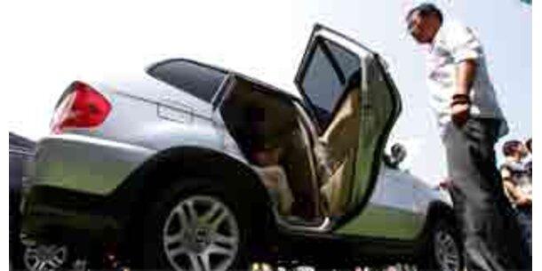 Chin. Hersteller will Autos nicht ausstellen
