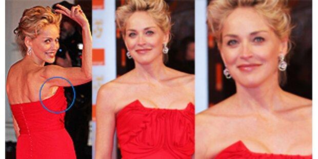 Sharon Stone und ihre Mogelpackung