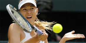 Maria Sharapova feiert Tennis Comeback