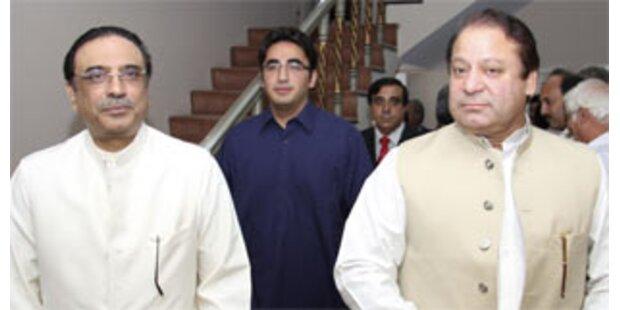 Koalitionsstreit in Pakistan geht weiter
