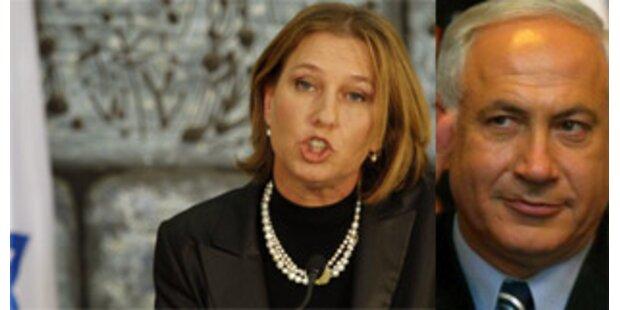 Netanyahu erteilt Livni eine Abfuhr