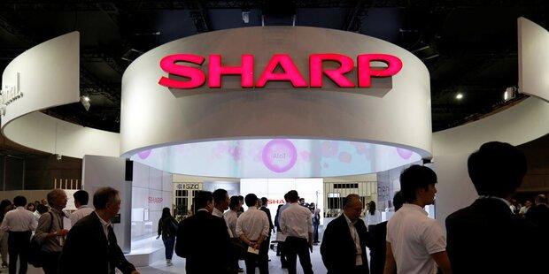Foxconn bringt Sharp wieder auf Kurs