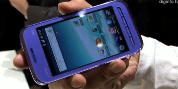 Erstes Video von Sharps 3D-Smartphone