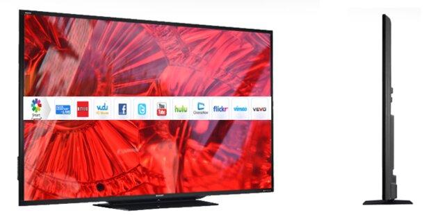 90 Zoll: Größter LED-TV der Welt gestartet