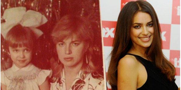 Model Irina Shayk: Schon als Kind fotogen