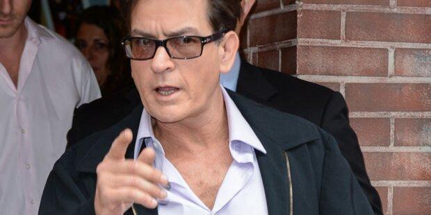 Charlie Sheen: Kurz vor nächstem Absturz?