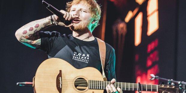 Fans unter Schock! Ed Sheeran plant lange Auszeit