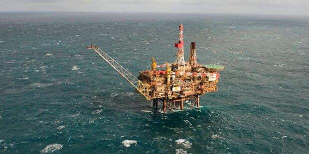 Shell: Ölteppich erreicht Küste nicht