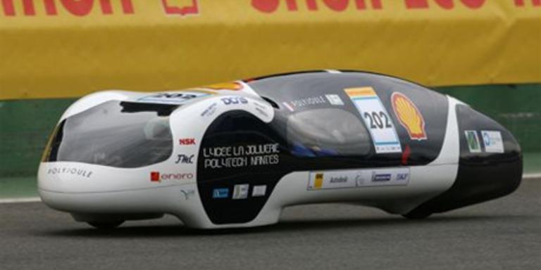 Das Sieger- und Weltrekordauto 2010; Bild: Shell