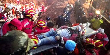 Mann überlebte 70 Stunden unter Trümmern