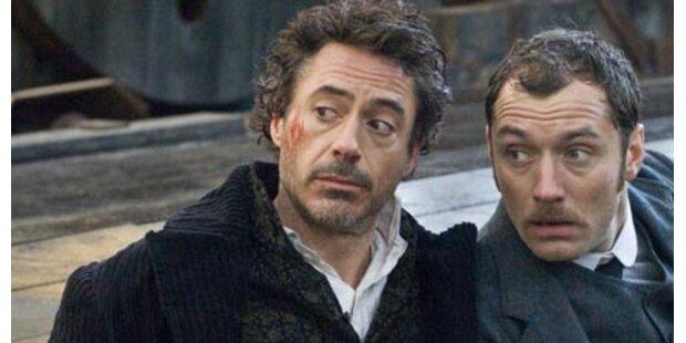 Rasante Action mit Sherlock Holmes