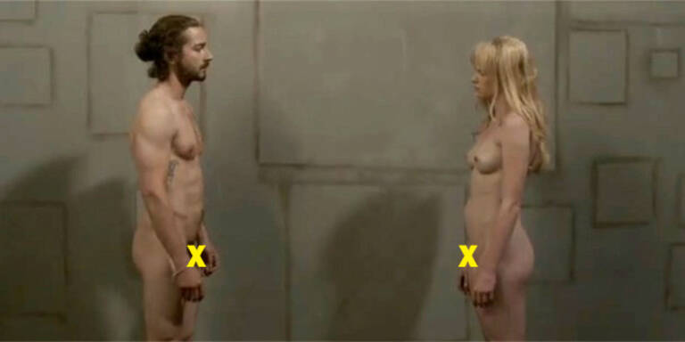 Shia LaBeouf nackt in Musikvideo