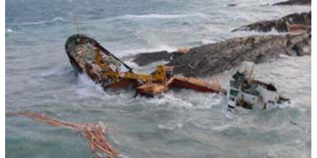19 Seeleute vor russischer Ostküste gerettet