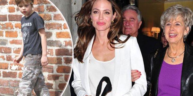 Jolie: Riesen Krach mit Brads Mama