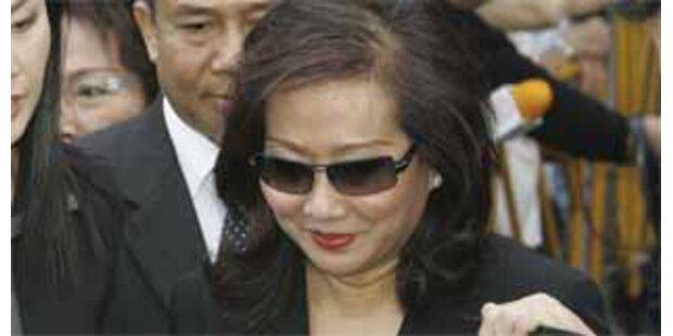 Frau von Thailands Ex-Premier verhaftet
