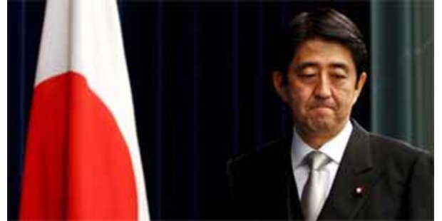 Abe musste nach Rücktritt ins Krankenhaus