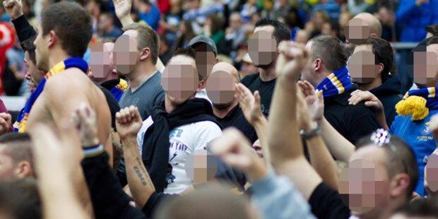 Massenschlägerei bei Handball-Länderspiel