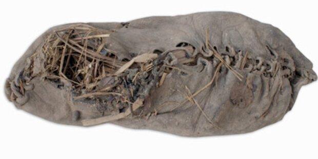 Ältester Schuh der Welt aus Armenien