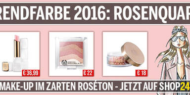 Trendfarbe 2016: Rosenquarz