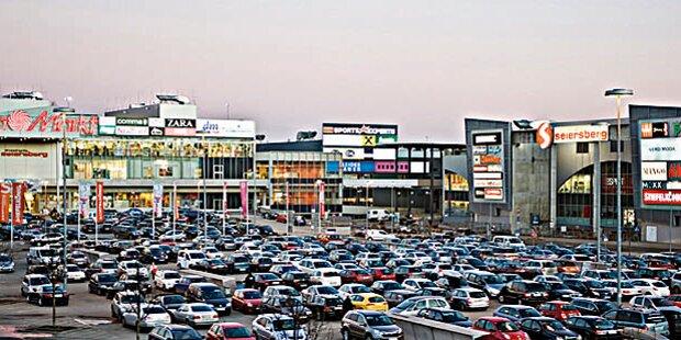 Shoppingcenter Seiersberg vor der Schließung