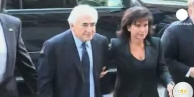 """Strauss Kahn plädiert """"nicht schuldig"""""""