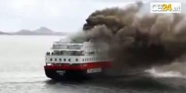 Kreuzfahrtschiffsbrand: Kentert die Nordlys?