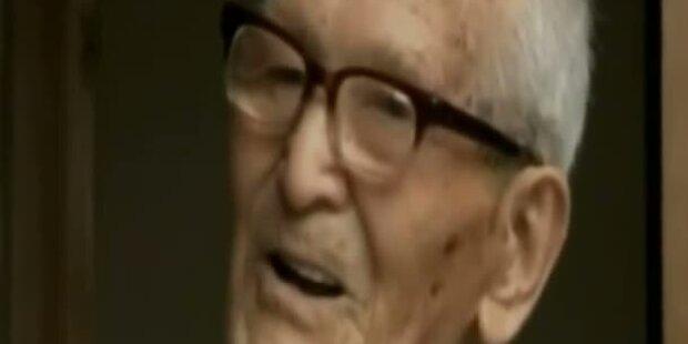 Ältester Mann der Welt feiert 114. Geburtstag