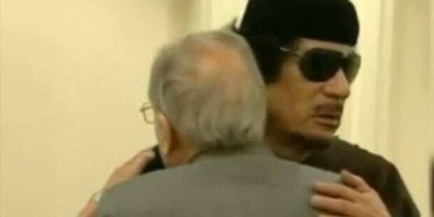 Extravaganter TV-Auftritt Gaddafis