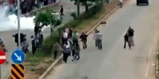 Türkei-Wahlkampf - Tote bei Demonstrationen