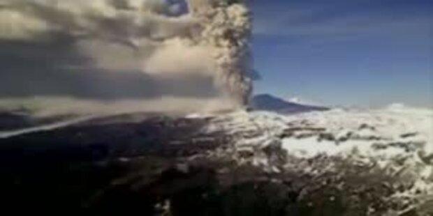 Vulkanasche legt Flugverkehr in Australien lahm