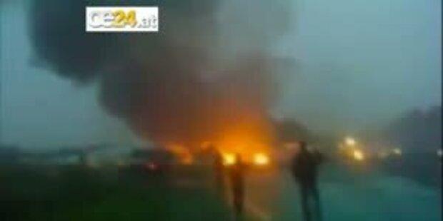 Schweres Flugunglück in Russland: 44 Tote