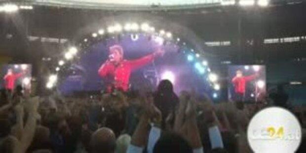 Mit oe24.at backstage bei Bon Jovi