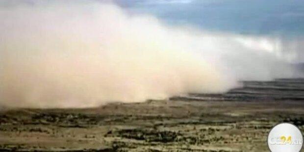 Gewaltiger Sandsturm fegt über Phoenix