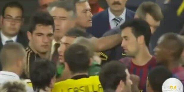 Mourinho zieht Co- Trainer Ohren lang