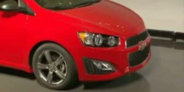 Der neue Chevrolet Aveo RS