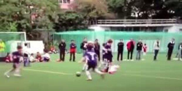 Der brutalste Nachwuchs- Kicker der Welt