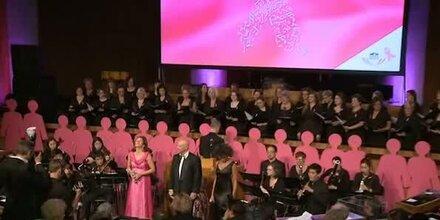 Promis setzten Zeichen bei der Pink Ribbon Night
