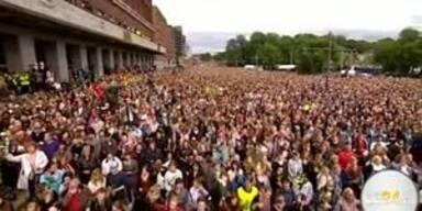 Über 200.000 bei Trauermarsch in Oslo