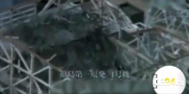Neue Bilder des Katastrophenkraftwerks