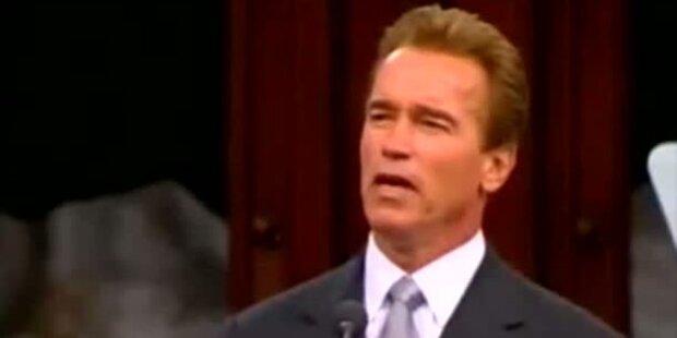Arnie und Shriver; nach 25 Jahren Schluss