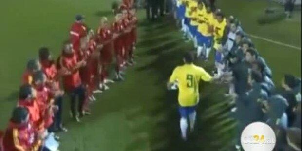 Abschied des großen Ronaldo
