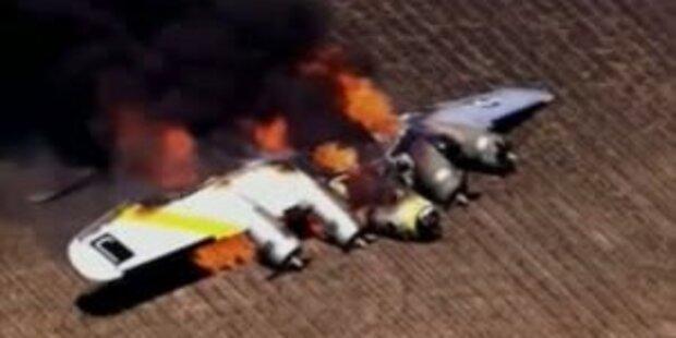 Kriegsbomber in den USA abgestürzt