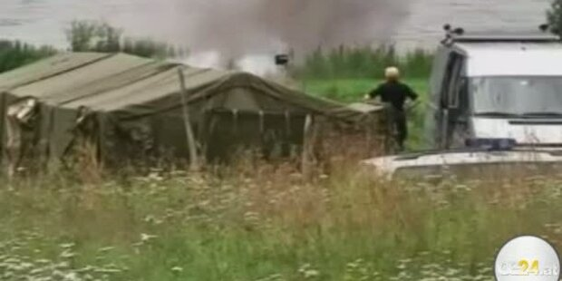 Sprengstoff auf Breivik-Farm gezündet