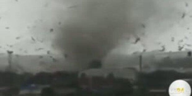 Unglaubliche Tornado-Bilder aus Russland