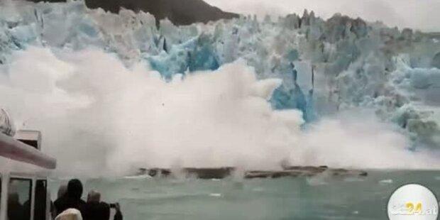 Verletzte durch Gletscherabgang