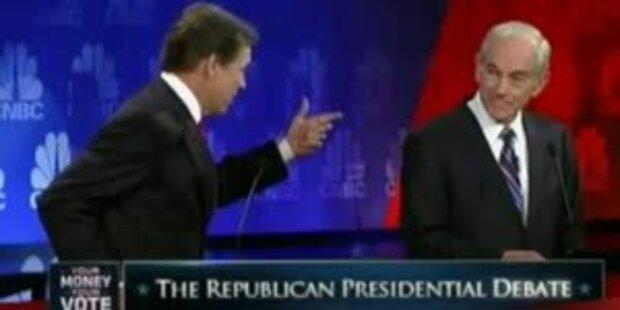 US-Wahlkämpfer Perry blamiert sich im TV