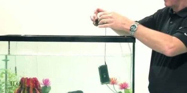 Wasserdicht dank Nano-Beschichtung